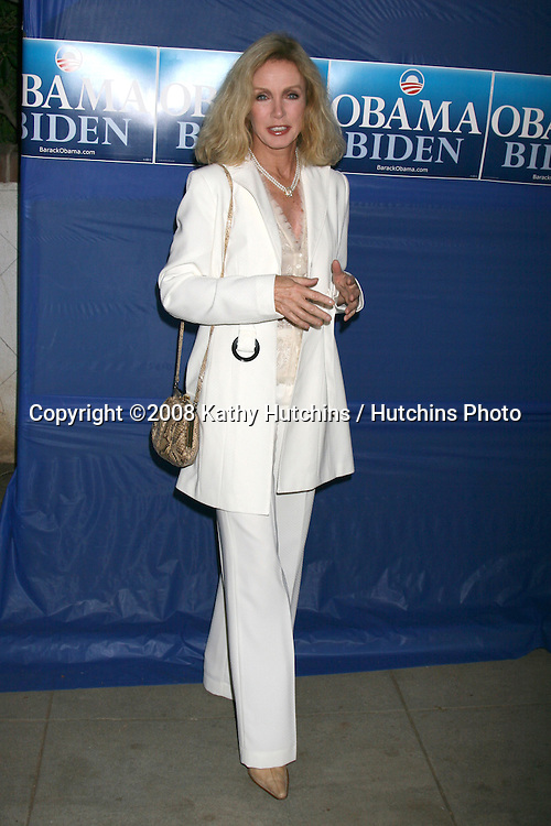 "Donna Mills arriving at the ""Countdown for Barack Obama"" Event at a private home in Beverly Hills, CA on.October 17, 2008.©2008 Kathy Hutchins / Hutchins Photo...                ."