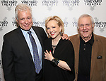 David Thompson, Susan Stroman and John Kander attends the Opening Night Performance of 'The Beast In The Jungle' at The Vineyard Theatre on May 23, 2018 in New York City.