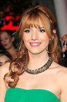 LOS ANGELES, CA - NOVEMBER 12: Bella Thorne at the premiere of 'The Twilight Saga: Breaking Dawn - Part 2' at Nokia Theater L.A. Live on November 12, 2012 in Los Angeles, California.  Credit: MediaPunch Inc. /NortePhoto