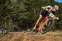 Picture by Alex Broadway/SWpix.com - 09/09/17 - Cycling - UCI 2017 Mountain Bike World Championships - XCO - Cairns, Australia - Grant Ferguson of Great Britain in action during the Men's Elite Cross Country Final.