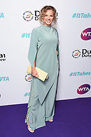 LONDON, UK. June 28, 2019: Katerina Siniakova arriving for the WTA Summer Party 2019 at the Jumeirah Carlton Tower Hotel, London.<br /> Picture: Steve Vas/Featureflash