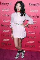 HOLLYWOOD, LOS ANGELES, CA, USA - SEPTEMBER 26: Natasha Lillipore arrives at the Benefit Cosmetics: Wing Woman Weekend Kick-Off Party held at the Benefit Tattoo Parlor on September 26, 2014 in Hollywood, Los Angeles, California, United States. (Photo by Xavier Collin/Celebrity Monitor)