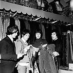 The Kinks 1966 Dave Davies, Pete Quaife, Ray Davies and Mick Avory in Carnaby Street<br /> &copy; Chris Walter