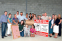 Pictured at the launch of the 'Draw the Joker' jackpot lotto in aid of the Nagle Rice Community Centre and Playground in Milltown are from left, Jerry Casey, Betty Moriarty, Kena Felle, Don Myers, Christine O'Brien, Irene O'Sullivan, Eileen Myers, Stuart Stevens, Mary McCarthy, Rosemary Healy, Jim McCarthy, Mike Larkin, Sr.Connicious, Darina Burke, Breda O'Leary, Margaret McCarthy, Cassandra Myers, Natasha Myers and Ciara O'Mahoney.<br /> The new centre, which is nearing completion, will have a main hall big enough for an international basketball court, as well as meeting rooms, changing rooms, kitchenette and stage. A second floor will have additional meeting rooms and offices, as well as a balcony overlooking the main hall. When the hall and playground are complete at the end of 2014, the communities of Castlemaine, Milltown and Listry will have a wonderful facility to cater for all age groups into the future.In recent years Milltown has seen the largest growth in population of any community in Kerry. In five years over 400 houses were built in and around the village, and each day almost 800 pupils attend its schools. There are very few facilities for young people in mid Kerry. Loneliness and isolation are serious issues for the elderly. The existing hall has served Milltown well for over 50 years, but it is no longer enough.Tickets for the Joker Draw are &euro;2 each or 3 for &euro;5. Weekly draws will be on Sunday nights at 10.00pm. The winning ticket each week gets to turn a card on the board &ndash; turn the Joker, win the jackpot! Each week there is one less card on the board so the chance of winning increases and so does the excitement.The first draw is in Larkin&rsquo;s on Sunday August 3rd with a starting jackpot of &euro;2,000. It&rsquo;s a great cause and a great bit of fun so please buy a ticket, sell a ticket and be a part of it.	<br /> Photo by Sally MacMonagle.