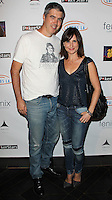 HOLLYWOOD, LOS ANGELES, CA, USA - SEPTEMBER 18: Keith Christian, Kellie Martin arrive at the 'Get Lucky For Lupus' 6th Annual Poker Tournament held at Avalon on September 18, 2014 in Hollywood, Los Angeles, California, United States. (Photo by Celebrity Monitor)