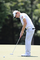 Emiliano Grillo (ARG) putts on the 13th green during Thursday's Round 1 of the 2017 PGA Championship held at Quail Hollow Golf Club, Charlotte, North Carolina, USA. 10th August 2017.<br /> Picture: Eoin Clarke | Golffile<br /> <br /> <br /> All photos usage must carry mandatory copyright credit (&copy; Golffile | Eoin Clarke)