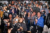 Fotografi alla sfilata, moda, anni '90