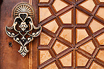 Firuz Aga Mosque Door 03 - Main entrance doors at the Firuz Aga Mosque, Sultanahmet, Istanbul, Turkey