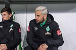 01.12.2019, Volkswagen Arena, Wolfsburg, GER, 1.FBL, VfL Wolfsburg vs SV Werder Bremen<br /><br />DFL REGULATIONS PROHIBIT ANY USE OF PHOTOGRAPHS AS IMAGE SEQUENCES AND/OR QUASI-VIDEO.<br /><br />im Bild / picture shows<br />Ersatzspieler Werder Bremen, <br />Claudio Pizarro (Werder Bremen #14), <br /><br />Foto © nordphoto / Ewert