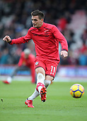 3rd December 2017, Vitality Stadium, Bournemouth, England; EPL Premier League football, Bournemouth versus Southampton; Dusan Tadic of Southampton warms up before kick off