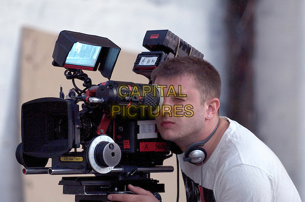 Ben Drew, director.on the set of Ill Manors.*Filmstill - Editorial Use Only*.CAP/NFS.Supplied by Capital Pictures.