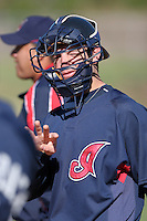Cleveland Indians minor leaguer Brent Lacy during Spring Training at the Chain of Lakes Complex on March 17, 2007 in Winter Haven, Florida.  (Mike Janes/Four Seam Images)