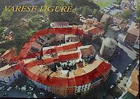 Varese Ligure, provincia di La Spezia, Italia,  sul fiume Vara, 2.300 abitanti, paese ecosostenibile,