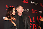 Dania Ramirez & Kevin Williamson - Executive Producer at Premier of Tell Me A Story in which she stars - This is no fairy tale at Metrograph, NYC on October 23, 2018 which is a CBS - all Access original series - premieres on Halloween  (Photo by Sue Coflin/Max Photos)