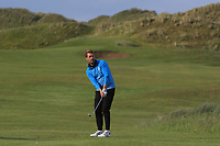 Paul Buckley (USA) on the 8th during Round 2 of The East of Ireland Amateur Open Championship in Co. Louth Golf Club, Baltray on Sunday 2nd June 2019.<br /> <br /> Picture:  Thos Caffrey / www.golffile.ie<br /> <br /> All photos usage must carry mandatory copyright credit (© Golffile   Thos Caffrey)