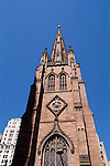 New York City, New York: Christ Church in lower Manhattan.  .Photo #: ny243-14792  .Photo copyright Lee Foster, www.fostertravel.com, lee@fostertravel.com, 510-549-2202.