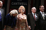 John Larroquette, Candice Bergen, Angela Lansbury, Michael McKeon & Corey Brill.during the Broadway Opening Night Performance Curtain Call for 'Gore Vidal's The Best Man' at the Gerald Schoenfeld Theatre in New York City on 4/1/2012