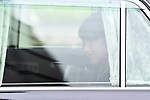 Japan's Princess Aiko looks from her vehicle near the Imperial Palace in Tokyo, Japan on May 1, 2019, the first day of the Reiwa Era. (Photo by MATSUO.K/AFLO)