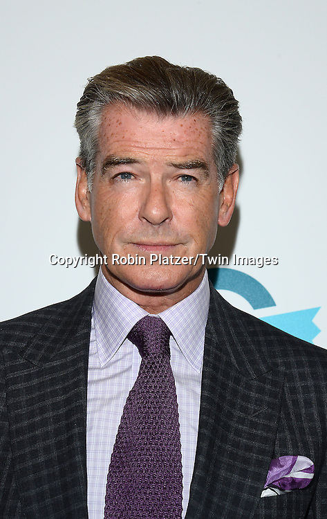 Pierce Brosnan attends the Ovarian Cancer Research Fund's  20th Anniversary Legends Gala on November 5, 2015 at the Pierre Hotel in New York City. <br /> <br /> photo by Robin Platzer/Twin Images<br />  <br /> phone number 212-935-0770