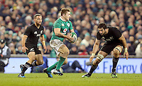19th November 2016 | IRELAND vs NEW ZEALAND<br /> <br /> Paddy Jackson on the attack during the Autumn Series International clash between Ireland and New Zealand at the Aviva Stadium, Lansdowne Road, Dublin,  Ireland. Photo by John Dickson/DICKSONDIGITAL