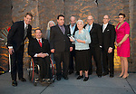 Ottawa, ON &ndash; Nov 27 2015 &ndash; Audrey Strom and family accepting the award for Wilf Strom at the Canadian Paralympic Hall of Fame<br /> (Photo: Matthew Murnaghan/Canadian Paralympic Committee)