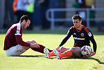 Sheffield United's Daniel Lafferty in action during the League One match at the Sixfields Stadium, Northampton. Picture date: April 8th, 2017. Pic David Klein/Sportimage