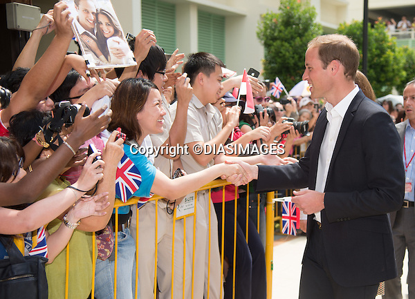 "CATHERINE, DUCHESS OF CAMBRIDGE AND PRINCE WILLIAM.visit Queenstown Precint for a cultural event.They were greeted by Dragon Dancers and observed a display of Tai Chi_12/09/2012.Mandatory credit photo: ©TR Pool/DIASIMAGES..""""NO UK USE FOR 28 DAYS UNTIL 10TH OCTOBER 2012""..                **ALL FEES PAYABLE TO: ""NEWSPIX INTERNATIONAL""**..IMMEDIATE CONFIRMATION OF USAGE REQUIRED:.DiasImages, 31a Chinnery Hill, Bishop's Stortford, ENGLAND CM23 3PS.Tel:+441279 324672  ; Fax: +441279656877.Mobile:  07775681153.e-mail: info@newspixinternational.co.uk"
