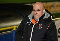 Blackpool's assistant manager Gary Brabin <br /> <br /> Photographer Andrew Kearns/CameraSport<br /> <br /> The Emirates FA Cup Second Round - Solihull Moors v Blackpool - Friday 30th November 2018 - Damson Park - Solihull<br />  <br /> World Copyright © 2018 CameraSport. All rights reserved. 43 Linden Ave. Countesthorpe. Leicester. England. LE8 5PG - Tel: +44 (0) 116 277 4147 - admin@camerasport.com - www.camerasport.com
