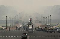 Air pollution, New Delhi, India