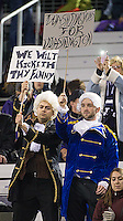 George Washingtons were rooting for the Huskies.