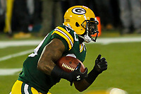 Green Bay Packers running back Jamaal Williams (30) during a National Football League game against the Minnesota Vikings on December 23rd, 2017 at Lambeau Field in Green Bay, Wisconsin. Minnesota defeated Green Bay 16-0. (Brad Krause/Krause Sports Photography)