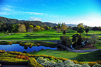 A general view of the course. 2017 Asia-Pacific Amateur Championship Media and Partner Golf Day at Royal Wellington Golf Club in Wellington, New Zealand on Monday, 16 October 2017. Photo: Dave Lintott / lintottphoto.co.nz