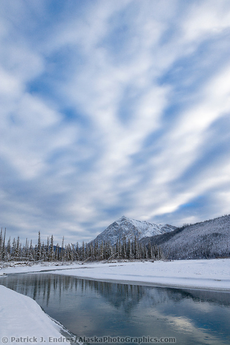 Mount Dillon and the Koyukuk river, Brooks Range, Alaska
