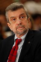 NAPOLI 15/06/2012 CONFERENZA NAZIONALE PER IL LAVORO DEL PARTITO DEMOCRATICO.NELLA FOTO  CESARE DAMIANO.FOTO CIRO DE LUCA.