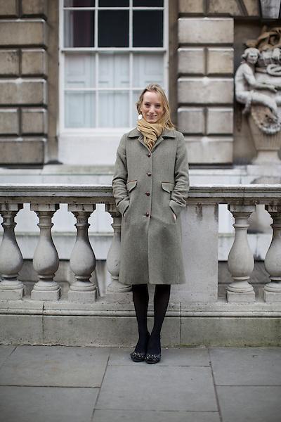 Harriet Arbuthnot at London Fashion Week