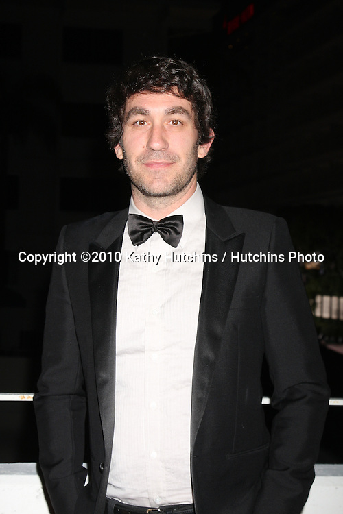 Brent Bolthouse.arriving at the 3rd Annual Art of Elysium Gala.Rooftop of Parking Garage across from Beverly Hilton Hotel.Beverly Hills, CA.January 16, 2010.©2010 Kathy Hutchins / Hutchins Photo....