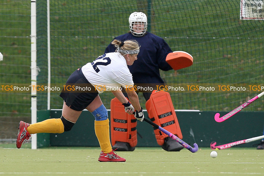 Romford score their third and equalising goal - Upminster HC Ladies 4th XI vs Romford HC Ladies 2nd XI - Essex Hockey League at Coopers Coborn and Company School - 05/03/11 - MANDATORY CREDIT: Gavin Ellis/TGSPHOTO - Self billing applies where appropriate - Tel: 0845 094 6026