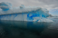 Blue Caves I - Fantastical ice at Planeau Island