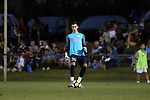 CARY, NC - SEPTEMBER 29: UNC's Alec Smir. The University of North Carolina Tar Heels hosted the North Carolina State University Wolfpack on September 29, 2017 at Koka Booth Field at WakeMed Soccer Park in Cary, NC in a Division I college soccer game.