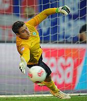 FUSSBALL   1. BUNDESLIGA   SAISON 2012/2013   LIGA TOTAL CUP  FC Bayern Muenchen - SV Werder Bremen       04.08.2012 Sebastian Mielitz (SV Werder Bremen)