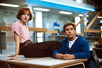 The Breakfast Club (1985) <br /> Molly Ringwald &amp; Emilio Estevez<br /> *Filmstill - Editorial Use Only*<br /> CAP/KFS<br /> Image supplied by Capital Pictures