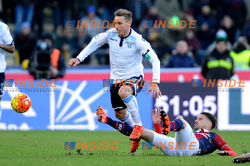 Lucas Biglia Lazio <br /> Bologna 17-01-2016 Stadio Dall'Ara Football Calcio Serie A 2015/2016 Bologna - Lazio Foto Insidefoto
