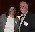 Sally Phelps and John Hasenau during the Kentucky Derby Party at The Peppermill on Saturday, May 6, 2017 in Reno, Nevada.