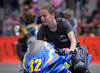 Lucy Dowman (Wanganui), Suzuki Gixxer Cup. The 2018 Suzuki series Cemetery Circuit motorcycle racing at Cooks Gardens in Wanganui, New Zealand on Wednesday, 28 December 2018. Photo: Dave Lintott / lintottphoto.co.nz