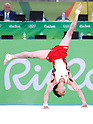 Kohei Uchimura (JPN), <br /> AUGUST 6, 2016 - Artistic Gymnastics : <br /> Men's Qualification <br /> Floor Exercise <br /> at Rio Olympic Arena <br /> during the Rio 2016 Olympic Games in Rio de Janeiro, Brazil. <br /> (Photo by Sho Tamura/AFLO SPORT)