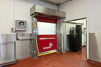 Union Industries Matadoor with a fast opening and closing door installed in a factory unit dealing in food