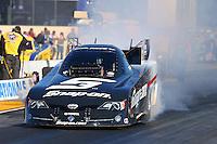 Jul. 26, 2013; Sonoma, CA, USA: NHRA funny car driver Cruz Pedregon during qualifying for the Sonoma Nationals at Sonoma Raceway. Mandatory Credit: Mark J. Rebilas-