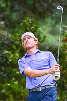 Roberto Castro (USA) watches his tee shot on 17 during round 3 of the World Golf Championships, Mexico, Club De Golf Chapultepec, Mexico City, Mexico. 3/4/2017.<br /> Picture: Golffile | Ken Murray<br /> <br /> <br /> All photo usage must carry mandatory copyright credit (&copy; Golffile | Ken Murray)