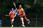 16 May 2015: Princeton's Amanda Leavell. The Duke University Blue Devils hosted the Princeton University Tigers at Koskinen Stadium in Durham, North Carolina in a 2015 NCAA Division I Women's Lacrosse Tournament quarterfinal match. Duke won the game 7-3