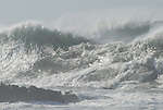 storm surf at Bean Hollow SB